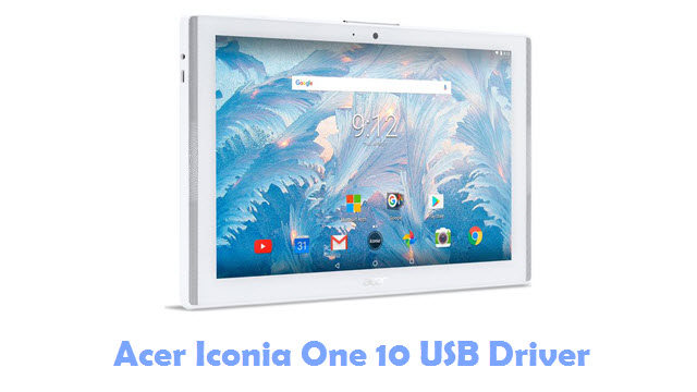 Acer Iconia One 10 USB Driver