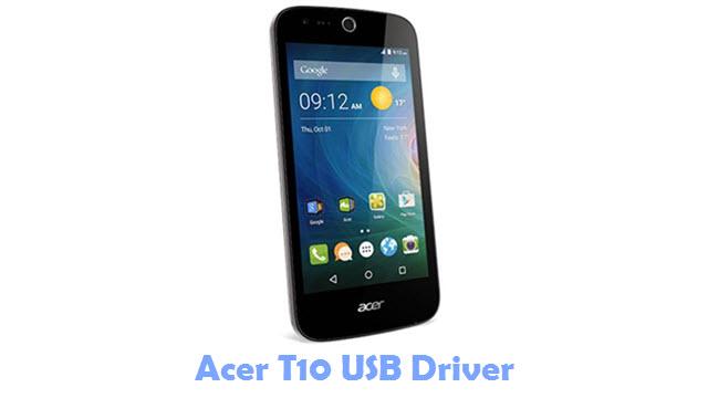 Download Acer T10 USB Driver