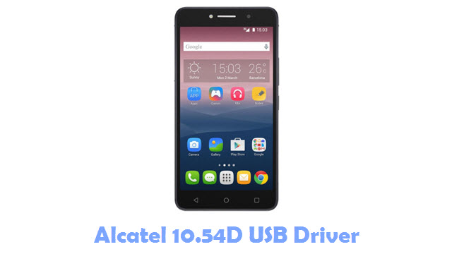 Download Alcatel 10.54D USB Driver