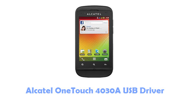 Download Alcatel OneTouch 4030A USB Driver