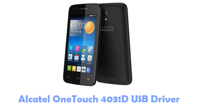 Download Alcatel OneTouch 4031D USB Driver