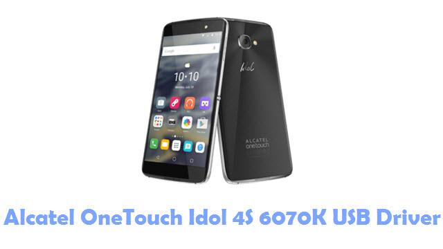 Alcatel OneTouch Idol 4S 6070K USB Driver