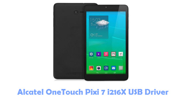 Download Alcatel OneTouch Pixi 7 i216X USB Driver