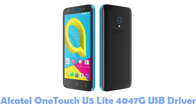 Download Alcatel OneTouch U5 Lite 4047G USB Driver