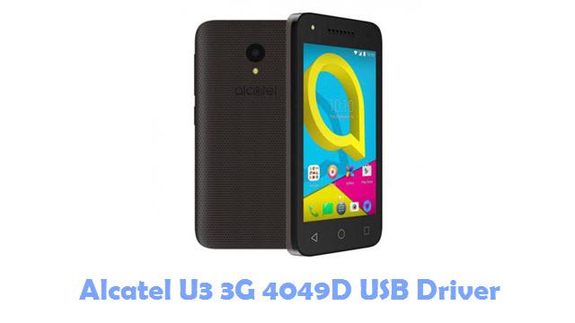 Download Alcatel U3 3G 4049D USB Driver