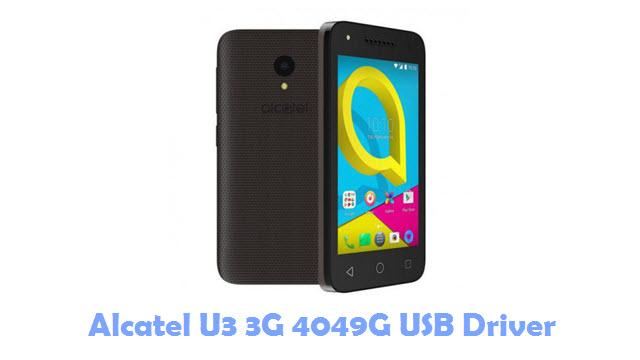 Download Alcatel U3 3G 4049G USB Driver