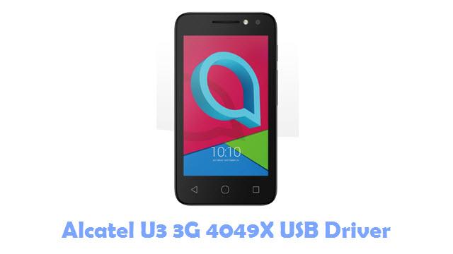 Download Alcatel U3 3G 4049X USB Driver