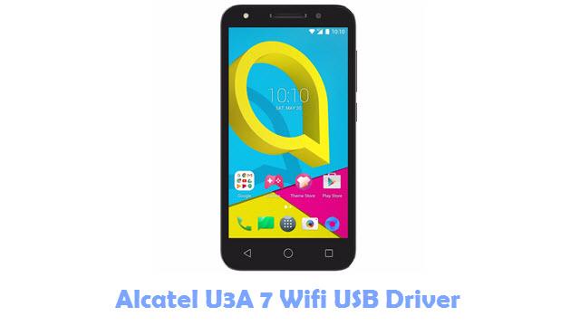 Download Alcatel U3A 7 Wifi USB Driver