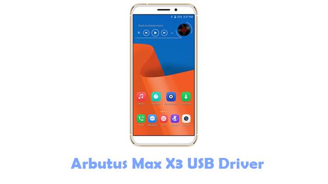 Arbutus Max X3 USB Driver