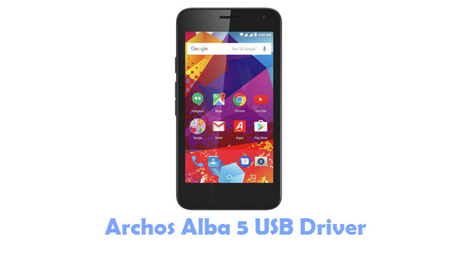 Download Archos Alba 5 USB Driver