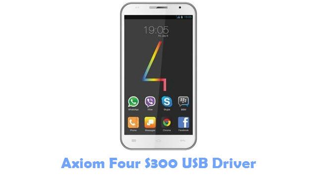 Axiom Four S300 USB Driver