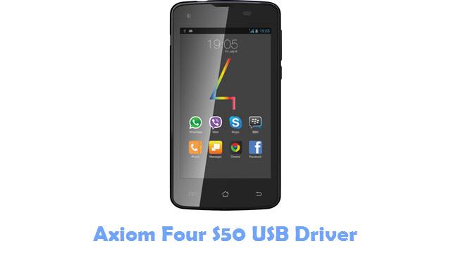Axiom Four S50 USB Driver