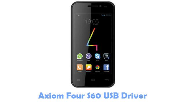 Axiom Four S60 USB Driver
