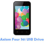 Download Axiom Four S61 USB Driver