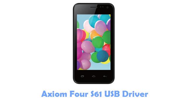 Axiom Four S61 USB Driver