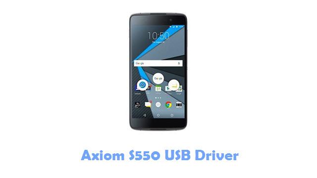 Axiom S550 USB Driver