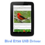 Download Bird E758 USB Driver