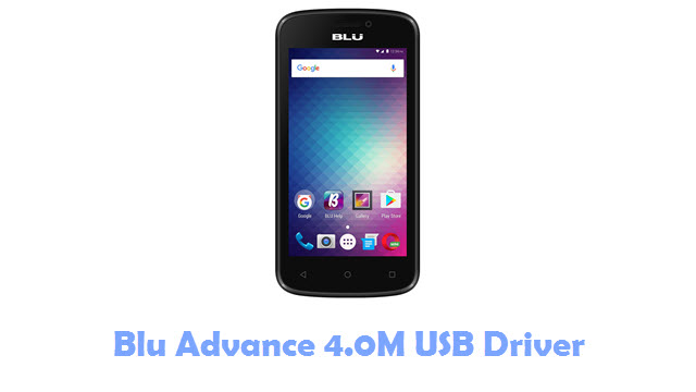 Download Blu Advance 4.0M USB Driver