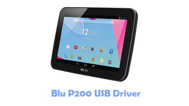 Download Blu P200 USB Driver