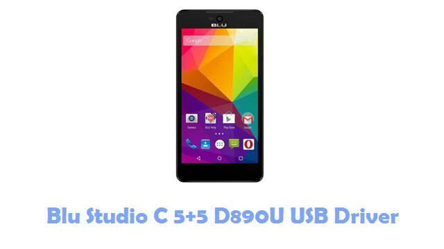 Download Blu Studio C 5+5 D890U USB Driver