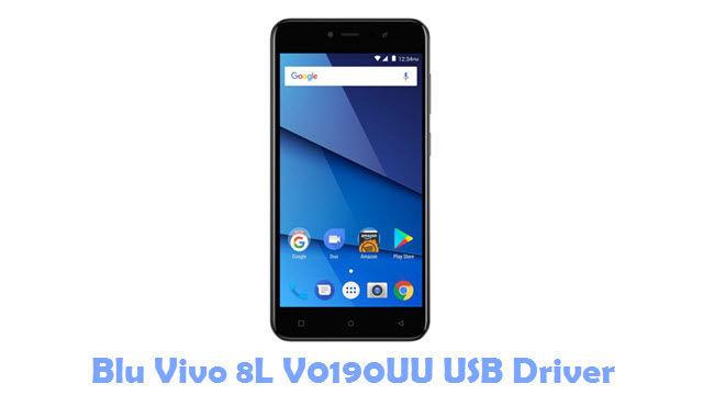 Download Blu Vivo 8L V0190UU USB Driver