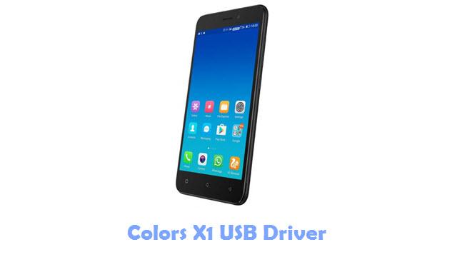 Colors X1 USB Driver