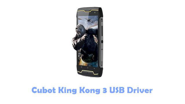 Download Cubot King Kong 3 USB Driver