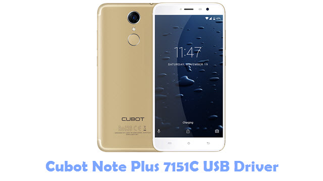 Cubot Note Plus 7151C USB Driver