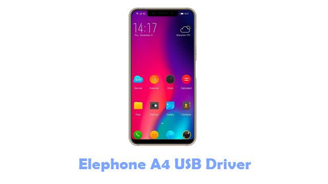 Elephone A4 USB Driver