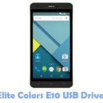 Download Elite Colors E10 USB Driver