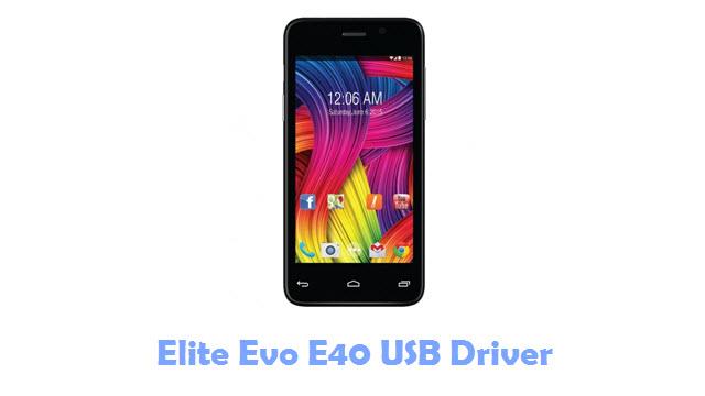 Elite Evo E40 USB Driver