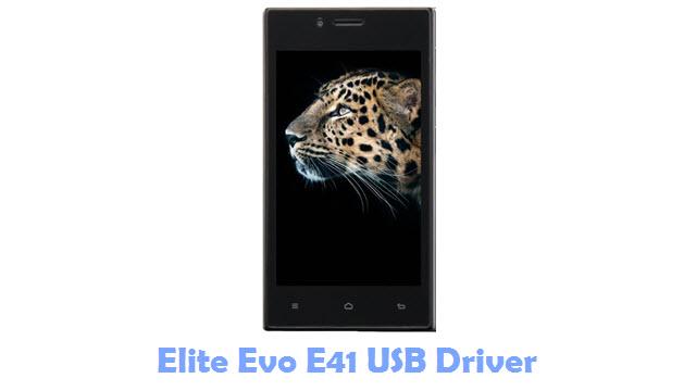 Elite Evo E41 USB Driver