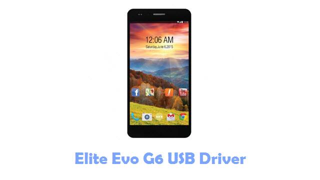 Elite Evo G6 USB Driver