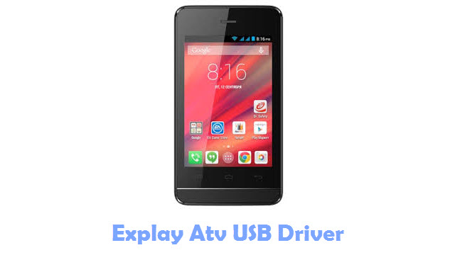 Download Explay Atv USB Driver