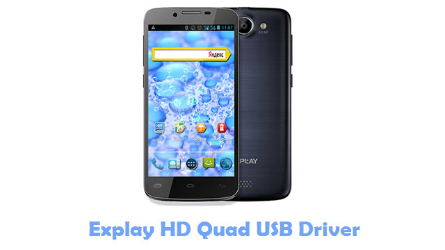 Explay HD Quad USB Driver