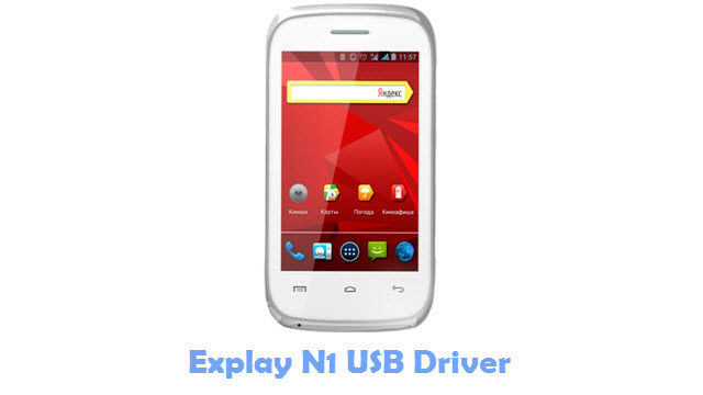 Download Explay N1 USB Driver