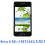 Download HDC Note 3 Mini MT6582 USB Driver