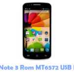 Download HDC Note 3 Rom MT6572 USB Driver