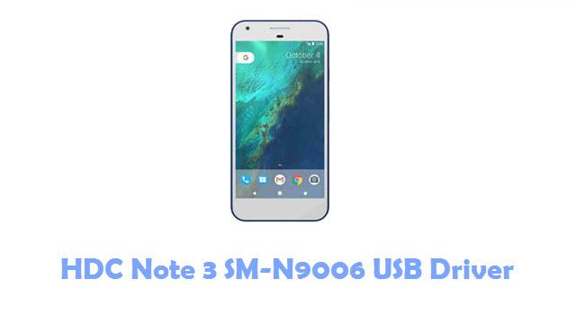 HDC Note 3 SM-N9006 USB Driver