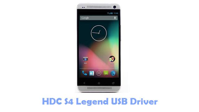 HDC S4 Legend USB Driver