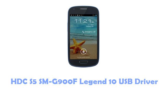 HDC S5 SM-G900F Legend 10 USB Driver