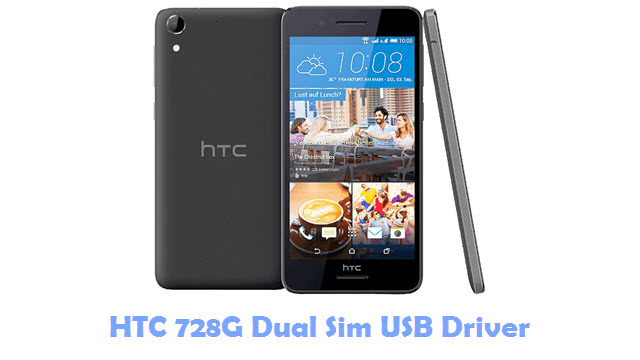 Download HTC 728G Dual Sim USB Driver