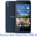 Download HTC Desire 826 Dual Sim USB Driver