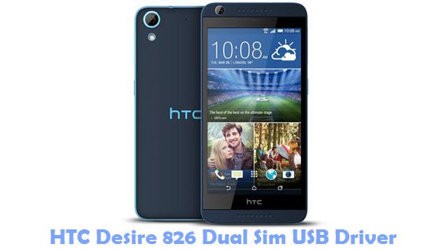 HTC Desire 826 Dual Sim USB Driver