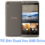 HTC E9s Dual Sim USB Driver