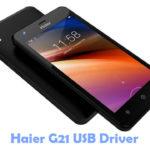 Haier G21 USB Driver