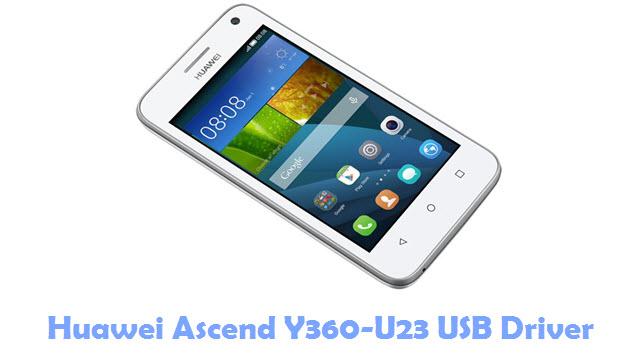 Download Huawei Ascend Y360-U23 USB Driver