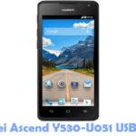 Huawei Ascend Y530-U051 USB Driver