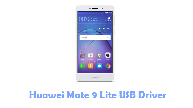 Download Huawei Mate 9 Lite USB Driver