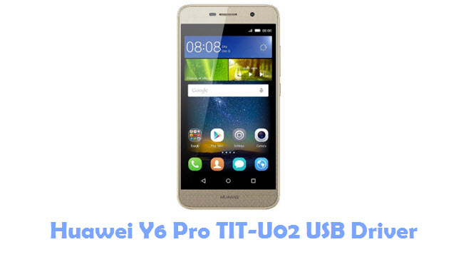 Huawei Y6 Pro TIT U02 USB Driver